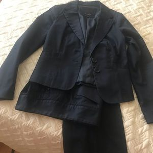 The Limited navy suit